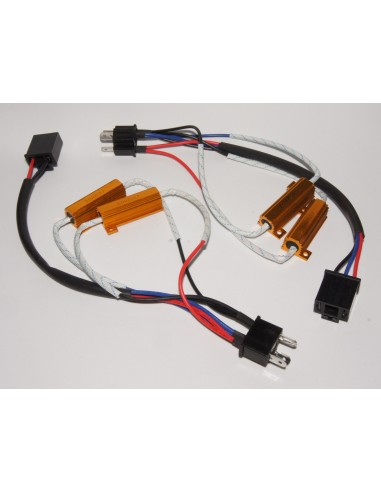 Kit Canbus H4 50W con conectores
