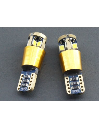 T10 W5W Canbus 10 Smd 3030 Gold