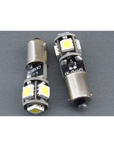 BA9S T4W Canbus 5 smd 5050