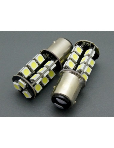 BAY15D P21/5W Canbus 27 smd 5050