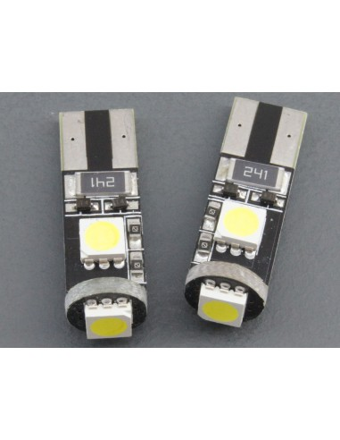 T10 W5W canbus 3 smd 5050