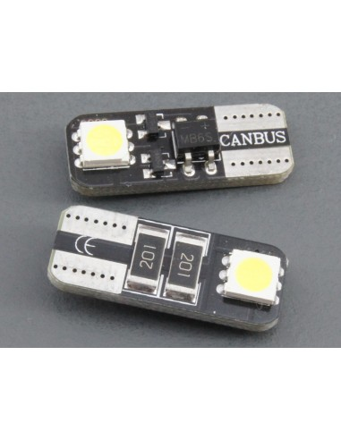 T10 W5W canbus 2 smd 5050