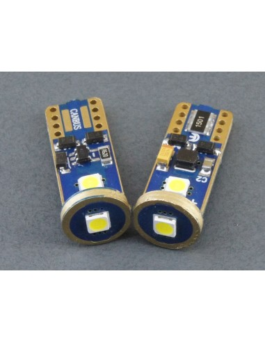 Bombillas LED T10 W5W Canbus 3 smd...