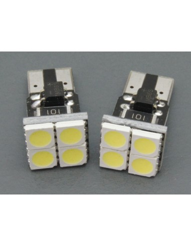 T10 W5W Canbus 4 smd 5050 frontales