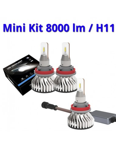 Mini Kit LED cruce o largo alcance,...